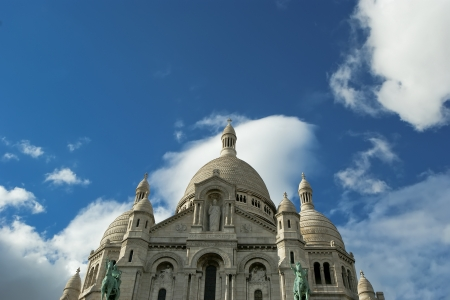 Basilica of the Sacred Heart of Paris, commonly known as Sacre-C&Aring,Basilica, Paris, France photo