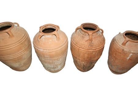 Traditional Ancient Greek amphora Stock Photo - 16339545