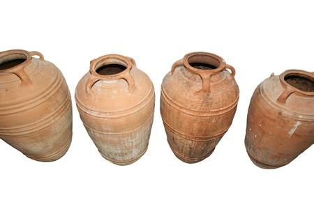 Traditional Ancient Greek amphora Stock Photo - 16339545