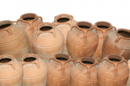 Traditional Ancient Greek amphora Stock Photo - 16329490