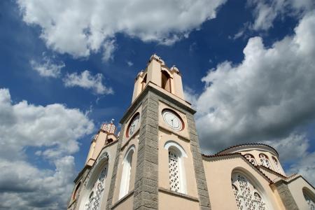 panteleimon: The Orthodox Church of St. Panteleimon, the island of Rhodes, Greece Stock Photo