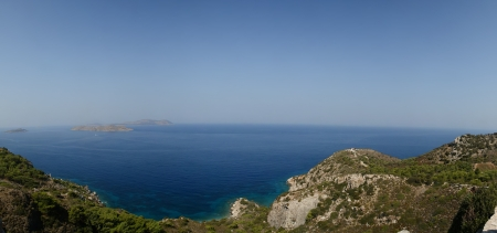 dodecanese: Seascape. Dodecanese Islands in the Aegean Sea, Greece