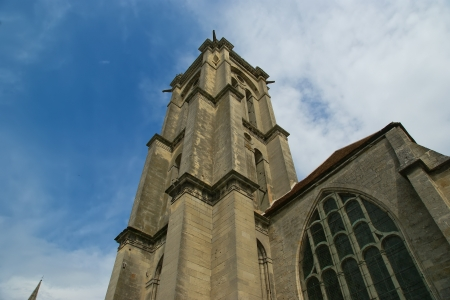 Cathedral (Notre Dame) of Senlis, Oise, Picardy, France Stock Photo - 16741599
