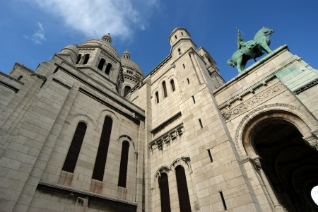Basilica of the Sacred Heart of Paris, commonly known as Sacr�-C%u0153ur Basilica, Paris, France photo