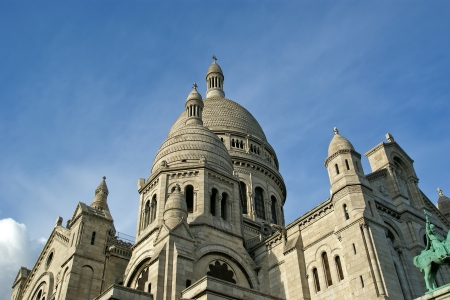 Basilica of the Sacred Heart of Paris, France photo