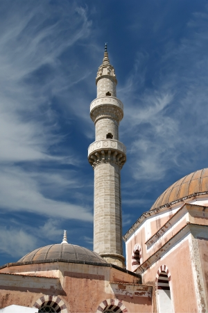 Mosque in Old Town, Rhodes, Greece Stock Photo - 17648968