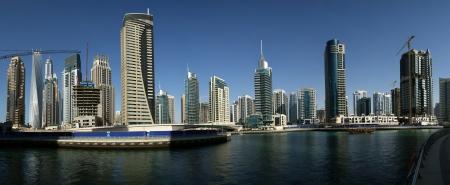 現代高層建築、ドバイ ・ マリーナ, ドバイ, アラブ首長国連邦 報道画像