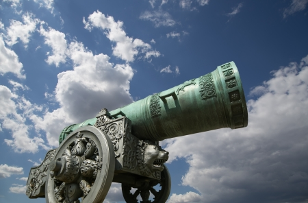 Tsar Cannon,  Moscow Kremlin, Russia photo