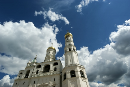 Ivan the Great Bell-Tower complex. Moscow Kremlin, Russia Stock Photo - 21205209