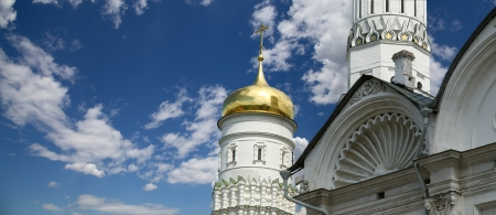 Ivan the Great Bell-Tower complex. Moscow Kremlin, Russia Stock Photo - 21205233