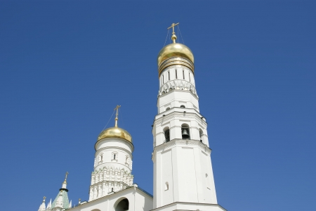ivan: Ivan the Great Bell. Moscow Kremlin, Russia. Stock Photo