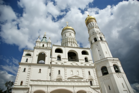 Ivan the Great Bell-Tower complex. Moscow Kremlin, Russia Stock Photo - 21205254