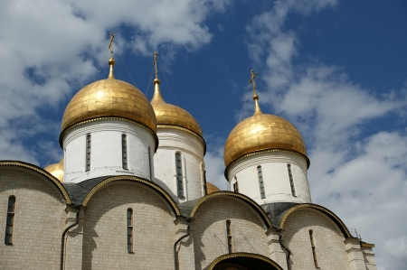 The Assumption Cathedral, Moscow Kremlin. Stock Photo - 21205255
