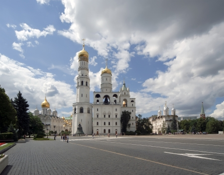 Ivan the Great Bell-Tower complex. Moscow Kremlin, Russia Stock Photo - 21313350