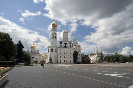 Ivan the Great Bell-Tower complex. Moscow Kremlin, Russia Stock Photo - 21313371
