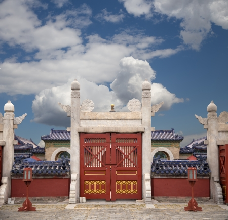 Temple of Heaven (Altar of Heaven), Beijing, China photo