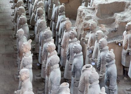 dynasty: Qin dynasty Terracotta Army, Xian (Sian), China