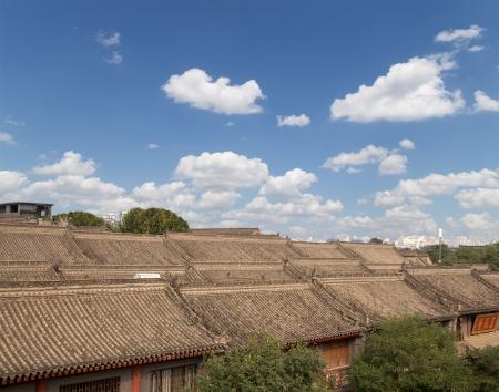View of the city of Xian (Sian, Xi'an), Shaanxi province, China Stock Photo - 23787047