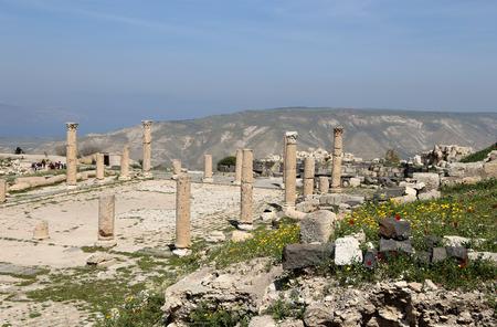 umm: Roman ruins at Umm Qais (Umm Qays) --is a town in northern Jordan near the site of the ancient town of Gadara. Umm Qais is one of Jordans most unique Greco Roman Decapolis sites