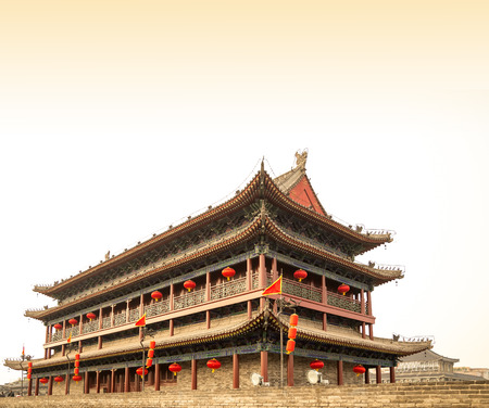 Fortifications of Xian (Sian, Xi'an) an ancient capital of China-- represent one of the oldest and best preserved Chinese city walls
