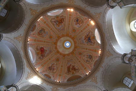 literally: interior of the Dresden Frauenkirche ( literally Church of Our Lady) is a Lutheran church in Dresden, Germany
