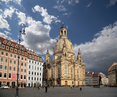 the church of our lady: Dresden Frauenkirche ( literally Church of Our Lady) is a Lutheran church in Dresden, Germany Editorial