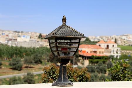 ornamentations: Traditional arabic lamp, Jordan, Middle East