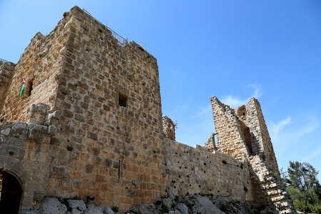 12th century: The ayyubid castle of Ajloun in northern Jordan, built in the 12th century, Middle East