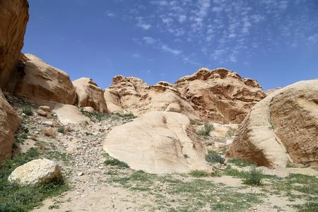 petra  jordan: Mountains of Petra, Jordan, Middle East