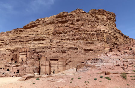 Petra, Jordan, Middle East -- it is a symbol of Jordan, as well as Jordans most-visited tourist attraction. Petra has been a UNESCO World Heritage Site since 1985 Editorial