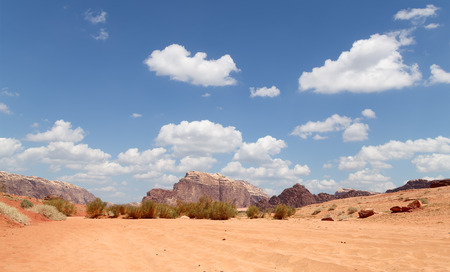 known: Wadi Rum Desert also known as The Valley of the Moon is a valley cut into the sandstone and granite rock in southern Jordan 60 km to the east of Aqaba