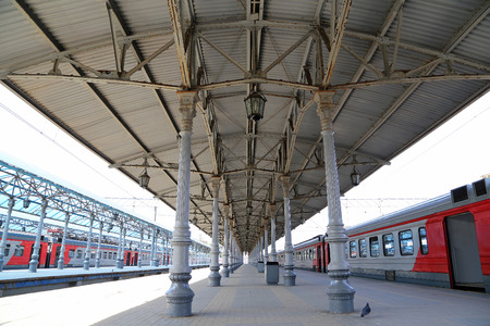 throughput: Yaroslavsky railway station, Moscow, Russia-- is one of nine main railway stations in Moscow, situated on Komsomolskaya Square. It has highest passenger throughput of all nine Moscow stations