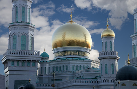 street creed: Moscow Cathedral Mosque, Russia -- the main mosque in Moscow, new landmark