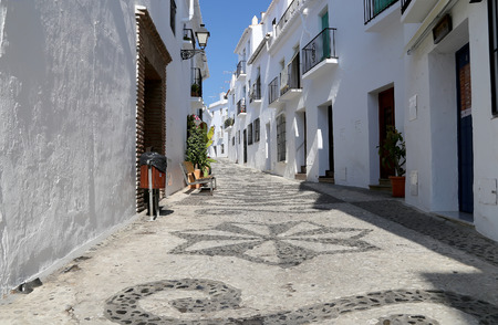 Frigiliana-- is one of beautiful white towns in the province of Malaga, Andalusia, Spain