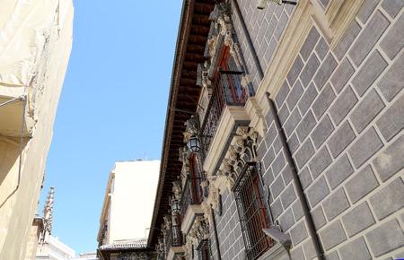 historic buildings: Traditional historic buildings, Granada, Andalucia, Spain Stock Photo