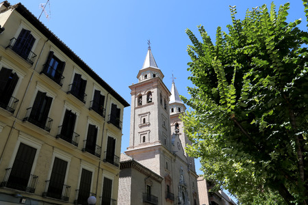 our lady of sorrows: Church of Our Lady of Sorrows, Granada, Andalucia, Spain