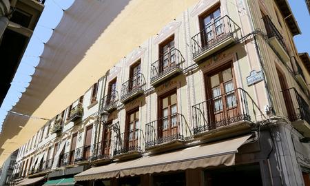 granada: Traditional historic buildings, Granada, Andalucia, Spain Stock Photo