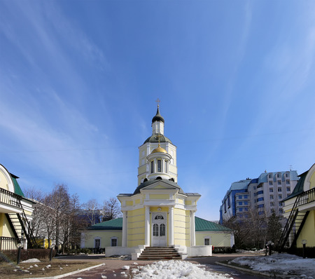 suburb: Metropolitan (holy hierarch) Philips Church in the suburb Meschanskoy. Moscow, Russia