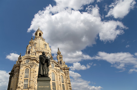 the church of our lady: The Dresden Frauenkirche ( literally Church of Our Lady) is a Lutheran church in Dresden, Germany