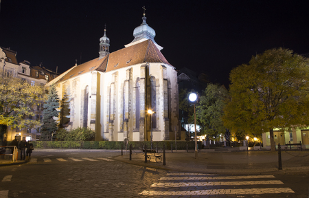 jewish community: Jewish Quarter of Prague (Night view) , Czech Republic