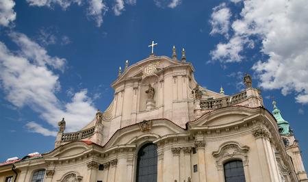 church of Saint Nicholas in Prague, Czech Republic