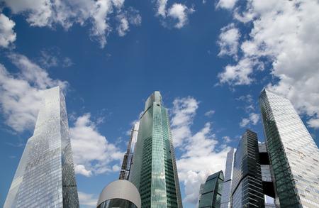 international business center: Skyscrapers of the International Business Center (City), Moscow, Russia