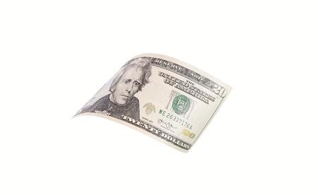 dollar bills close up, U.S. currency