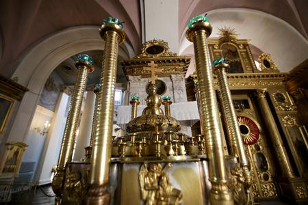 Interior Orthodox Church of the Mother of God Joy of All who sorrow, Bolshaya Ordynka, Moscow, Russia