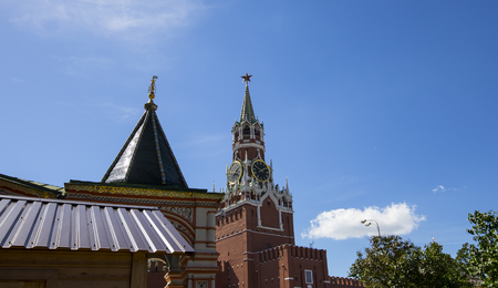Spassky Tower of Moscow Kremlin, Moscow, Russia