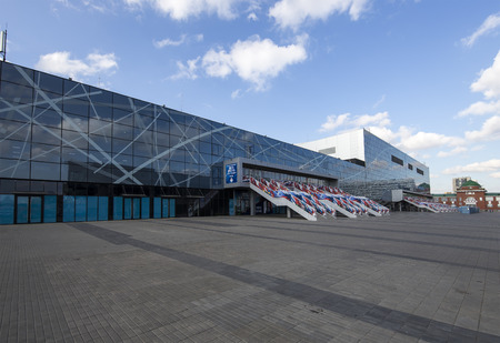 VTB Ice Palace (written in Russian), formerly known as Legends Arena-- is an indoor multi-sport venue arena that is located in Moscow, Russia