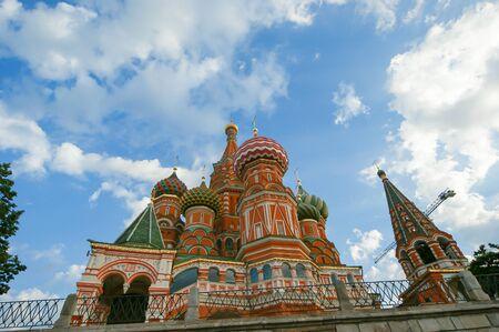 Temple de Basile le Bienheureux, Moscou, Russie, Place Rouge