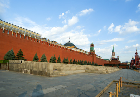 Red Square (day)  - the main landmark of Moscow, Russia Editorial