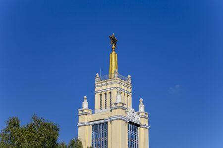 Landmarks in the territory of VDNKh