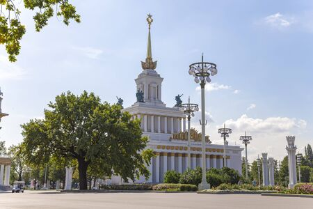 Central Pavilion No. 1 in the territory of VDNKh